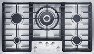 Miele Stainless Steel 5 burner hob KM2354