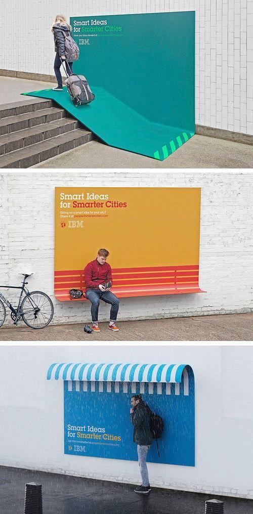IBM Street advertising