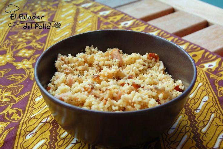 El paladar del pollo: Ensalada de Couscous http://goo.gl/Z62BKw