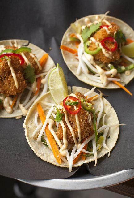 tasty fish tacos for an #FGwedding