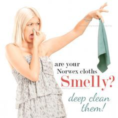 You are here: Home / Caring for Norwex Products / Smelly Norwex Cloths? Deep Clean Them! SMELLY NORWEX CLOTH