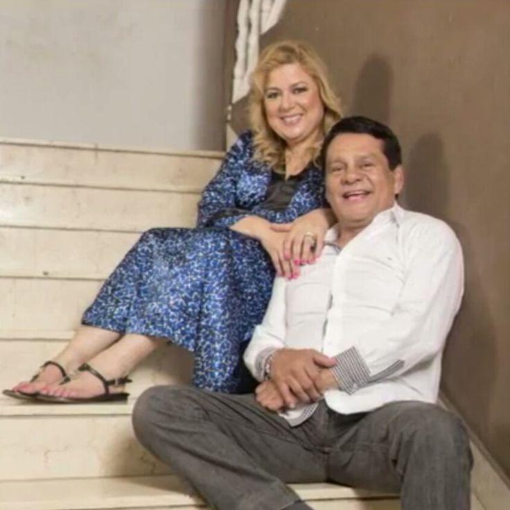 Roberto Durán and his wife Felicidad