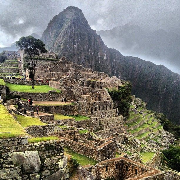 Machu Picchu en Machu Picchu, Cusco