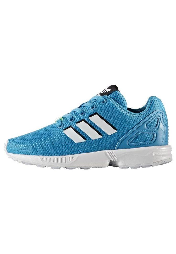 adidas Originals. ZX FLUX - Zapatillas - bold aqua/framas light blue/footwear white. Suela:fibra sintética. Plantilla:extraíble,tela. Puntera:redonda. Función:transpirable. Estampado:unicolor. Material interior:tela. Grosor del relleno:relleno contra el frío. Material/composición:m...