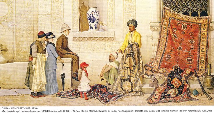 Osman Hamdi Bey's Carpet Seller