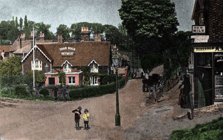The Toad Rock Retreat, Rusthall (no date).