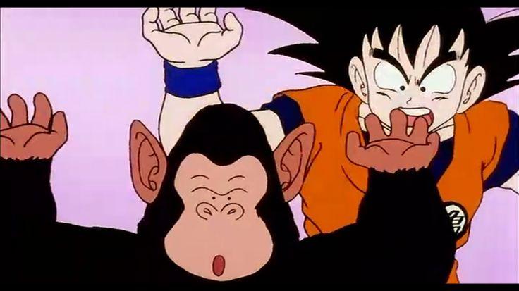 My favorite scene I screenshot it my self lol DBZ episode 18 when Goku thinks bobbles its King kai