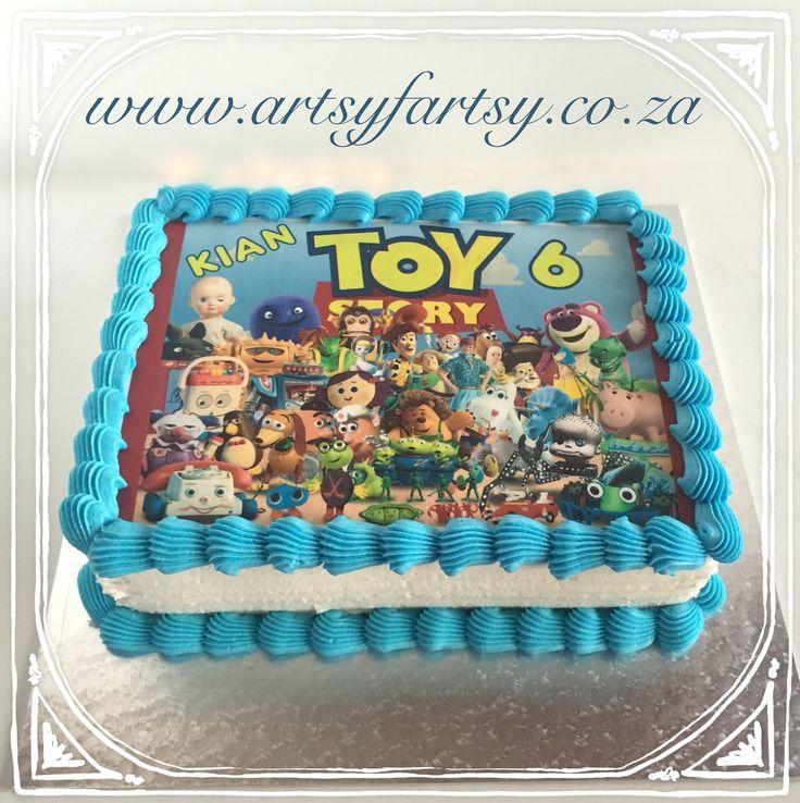 Toy Story Edible Picture Cake #toystoryediblepicturecake #toystorycake