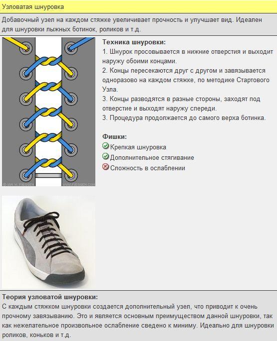 Учимся оригинально завязывать шнурки. Обсуждение на LiveInternet - Российский Сервис Онлайн-Дневников