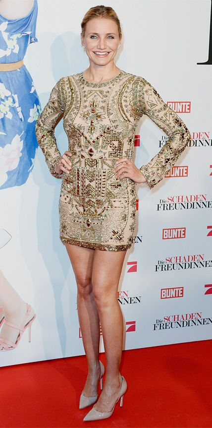 Look of the Day - April 8, 2014 - Cameron Diaz in Emilio Pucci from #InStyle