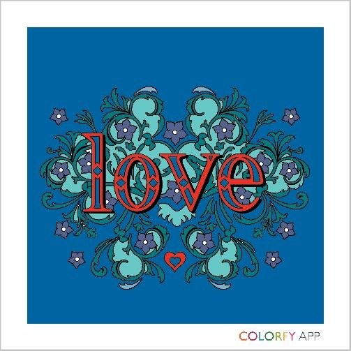 Colorfy Letter