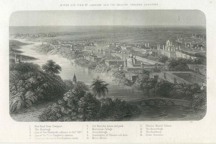 Lucknow towards Cawnpore c1860