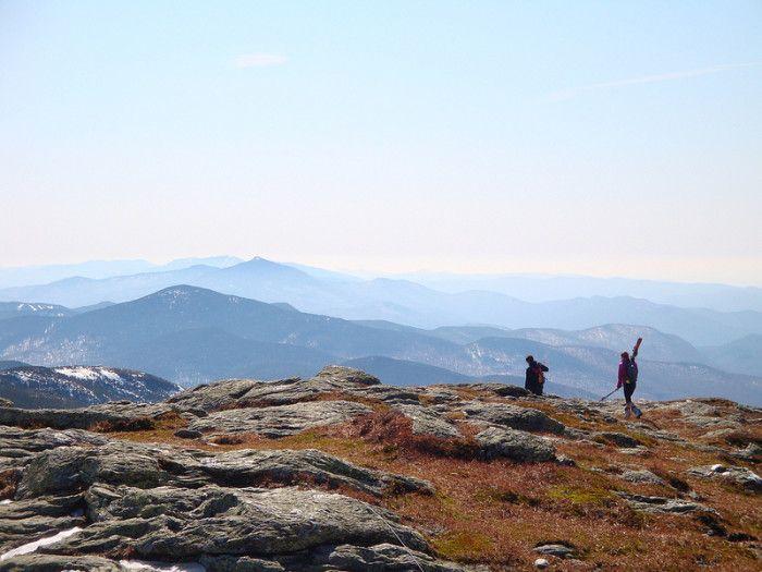 15.  Skinning up Mt. Mansfield
