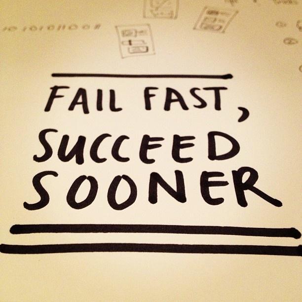 Fail Fast, Succeed Sooner