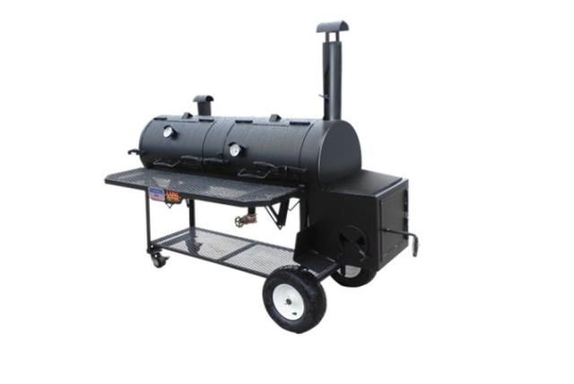Top 10 Smokers over $400 for 2015: Lang BBQ Smokers 36-Inch Hybrid Patio Smoker/Grill