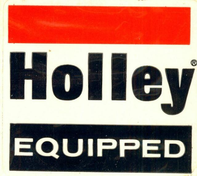 Holley Carburetors Fuel Pumps Decal