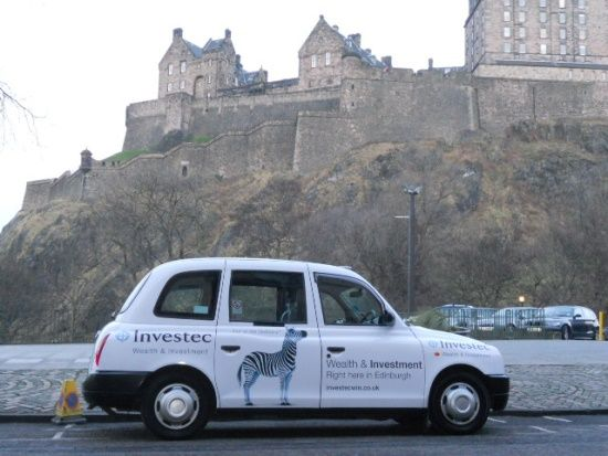 Edinburgh Taxi Advertising