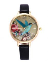 SHARE & Get it FREE | Floral Bird Roman Numeral Faux Leather WatchFor Fashion Lovers only:80,000+ Items • New Arrivals Daily • Affordable Casual to Chic for Every Occasion Join Sammydress: Get YOUR $50 NOW!
