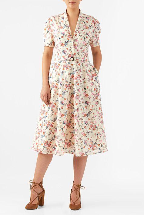Floral Print Fashion