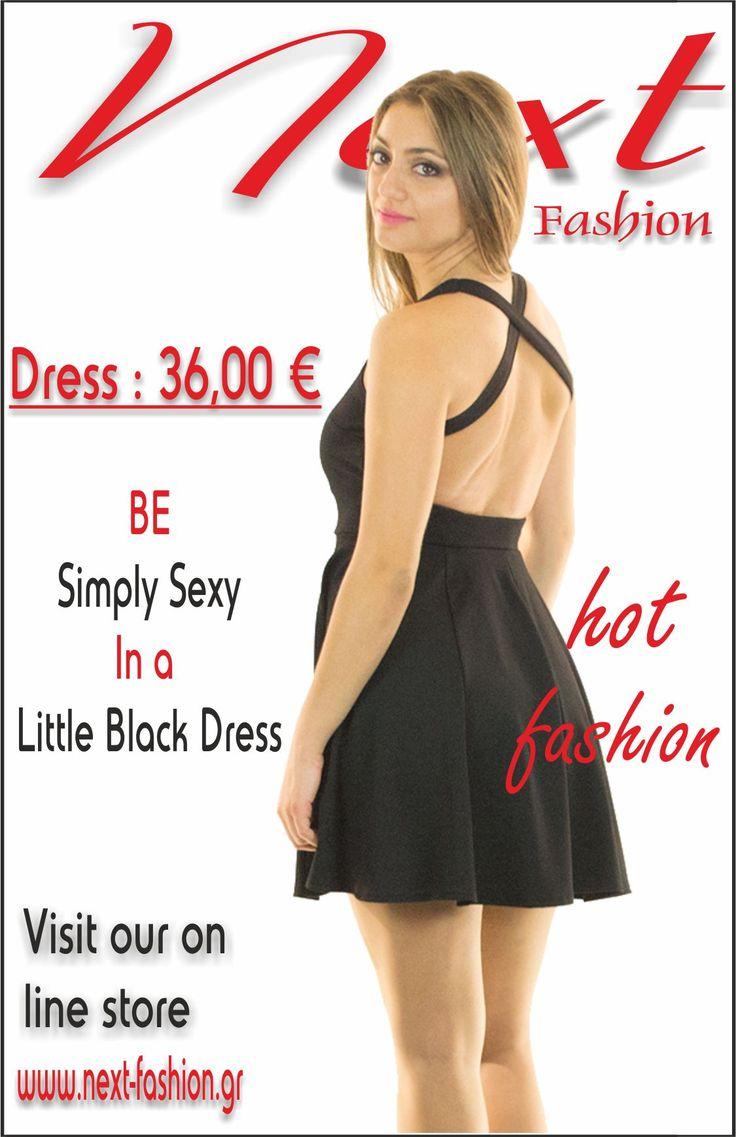 #Φορέματα #Γυναικεία #Μόδα #Women's #Fashion #Dresses #Casual #sexy #little #black #dress  Το φόρεμα μπορείτε να το βρείτε ΕΔΩ : http://next-fashion.gr/-foremata-/700--forema-konto-klos-exoplato-xiasti-rantes-.html
