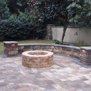 Paving Contractor in Jacksonville and St Augustine Florida. Paving contractor hardscape and landscaping lighting patio pavers driveways walkway firepit outdoor kitchen sealant and firepace.