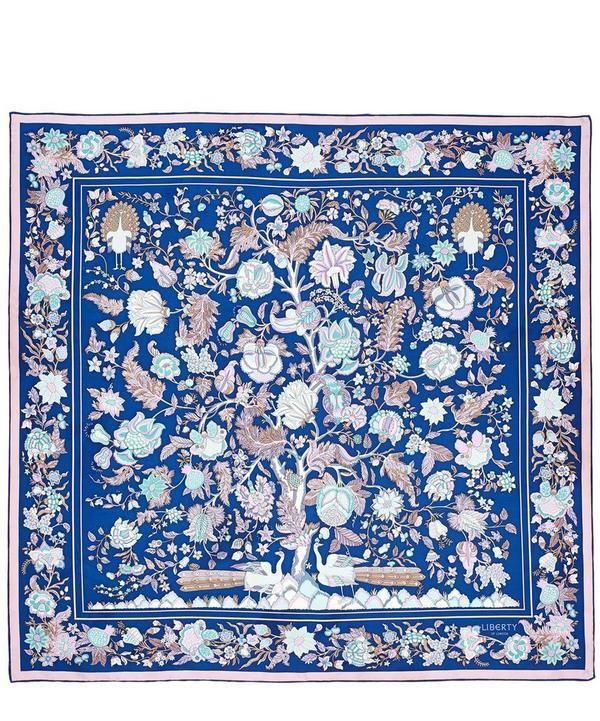 37808c68e Tree of Life 90 x 90 Silk Scarf | LUCRU in 2019 | Silk scarves, Silk ...