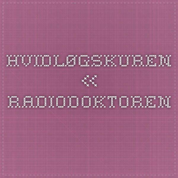 Hvidløgskuren « Radiodoktoren