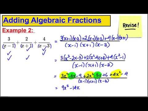 Core 4 Maths A-Level Edxecel - Partial Fractions (1)