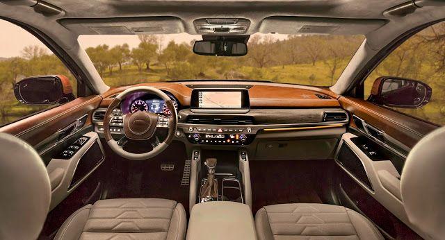 All New Kia Telluride Makes Texas Sized Statement On Brandon Maxwell S Runway At New York Fashion Week Telluride Kia Luxury Suv