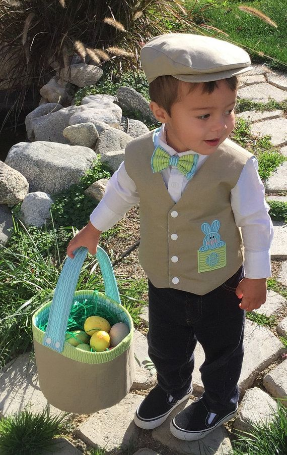 Hey, I found this really awesome Etsy listing at https://www.etsy.com/listing/221107333/infant-toddler-young-boy-easter-vest-and