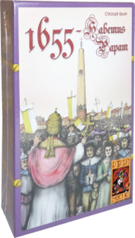Habemus Papam, Franciscus I is gekozen! Leer alles over de pauselijke verkiezing in dit strategische kaartspel!    Spannend kaartspel voor 3 tot 4 spelers over de verkiezing van een nieuwe paus. Bied op acties en palm kardinalen in. Wie de meeste invloed heeft verzameld als de witte rook verschijnt, levert de nieuwe paus!