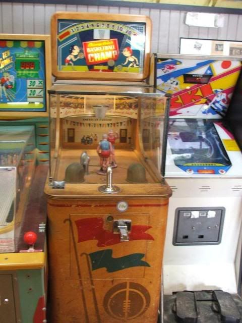 vintage arcade machines | The beauty of vintage mechanical ...