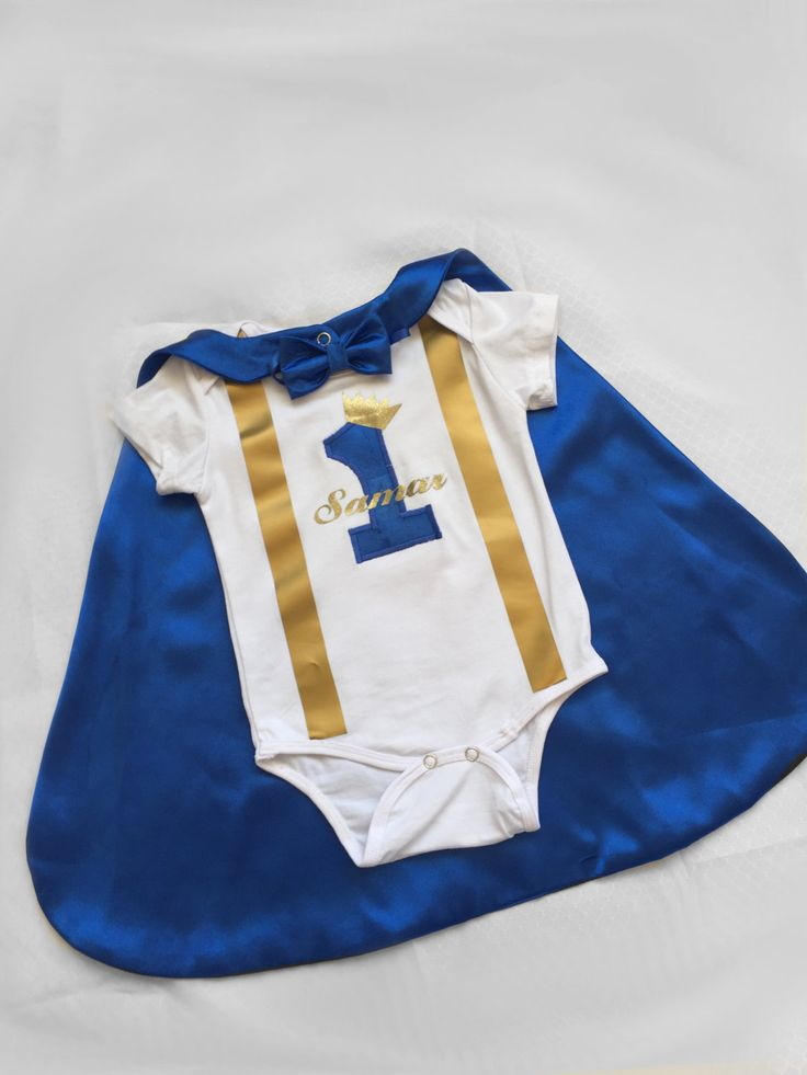 Little prince Personalised Baby boy 1st Birthday Outfit...1st Birthday dress up...Cake Smash Outfit...Baby photo shoot outfit... by BuBBlingBoutique on Etsy