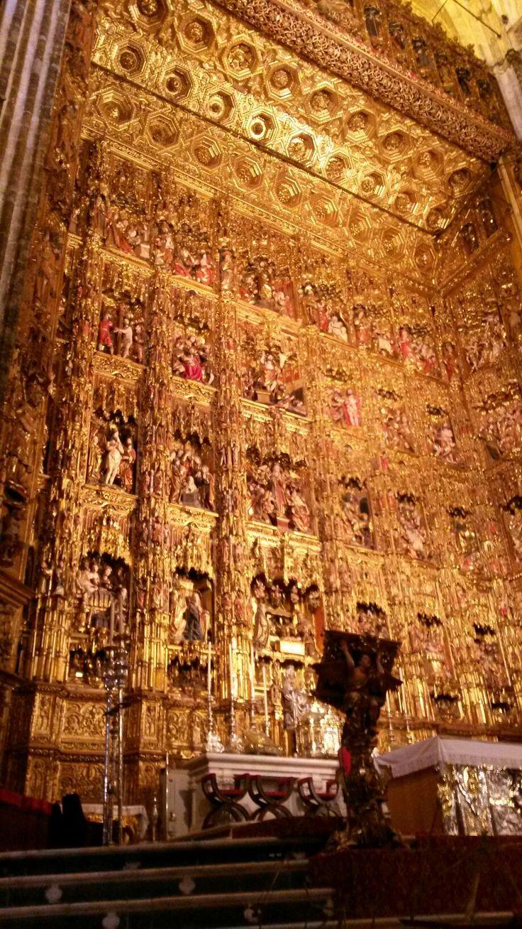 Sevilla.Altar Mayor de la Catedral.