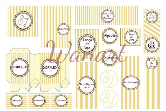 Kit Banheiro Casamento Moldes Dourado : Molde kit banheiro handpicked ideas to discover in other