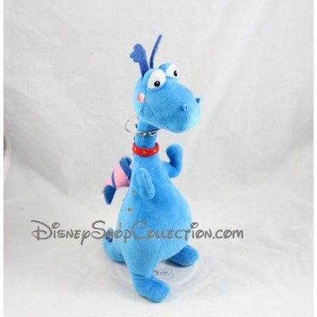 Peluche Toufy DISNEY Docteur la peluche dragon bleu 30 cm