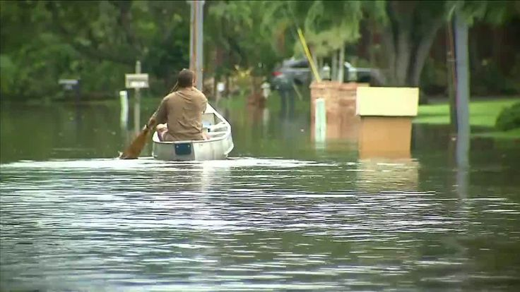 Davie residents told Local 10 News Wednesday that flooding in the area has been the worst that they have seen since Hurricane Wilma in 2005.
