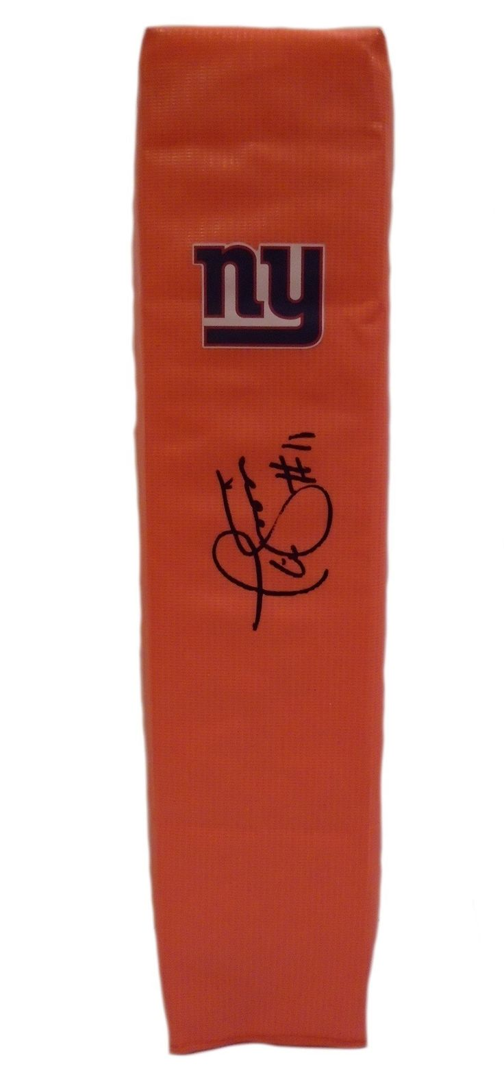 Phil Simms Autographed New York Giants Full Size Football End Zone Touchdown Pylon, Proof