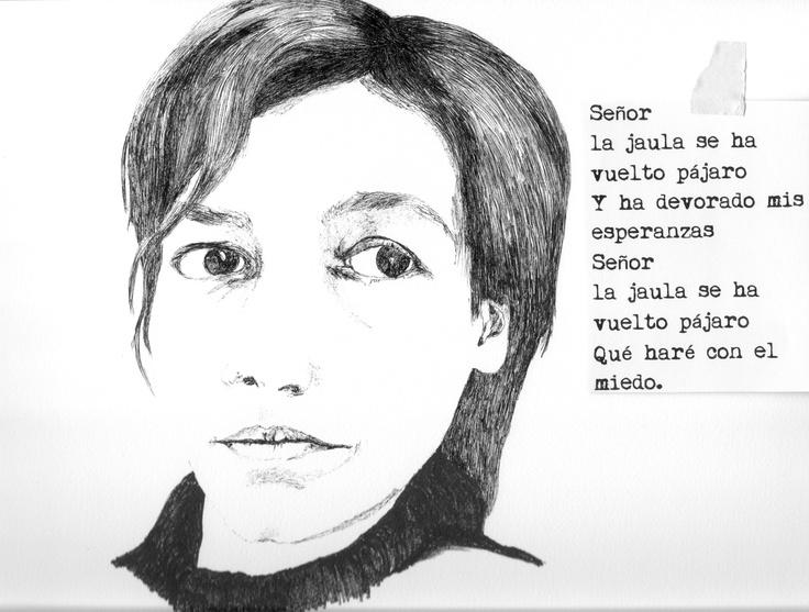 Alejandra Pizarnik  (1936-1972)  Palabras en la pizarra