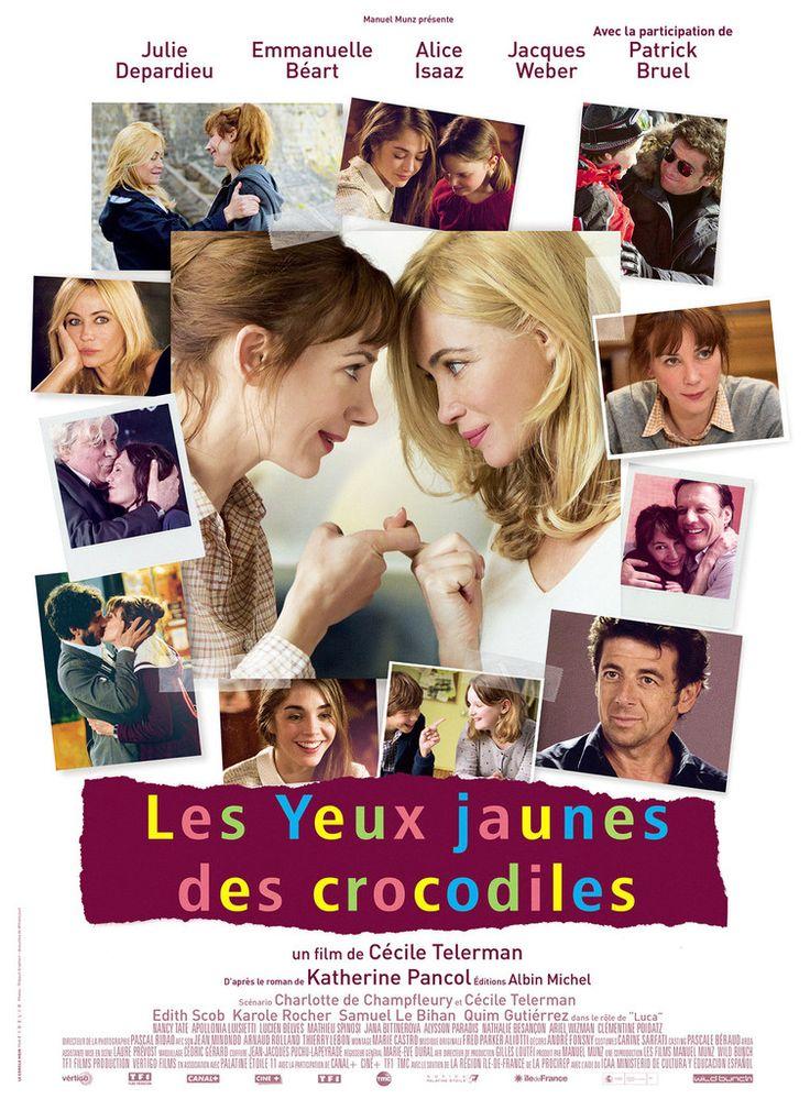 Les yeux jaunes des crocodiles : le film