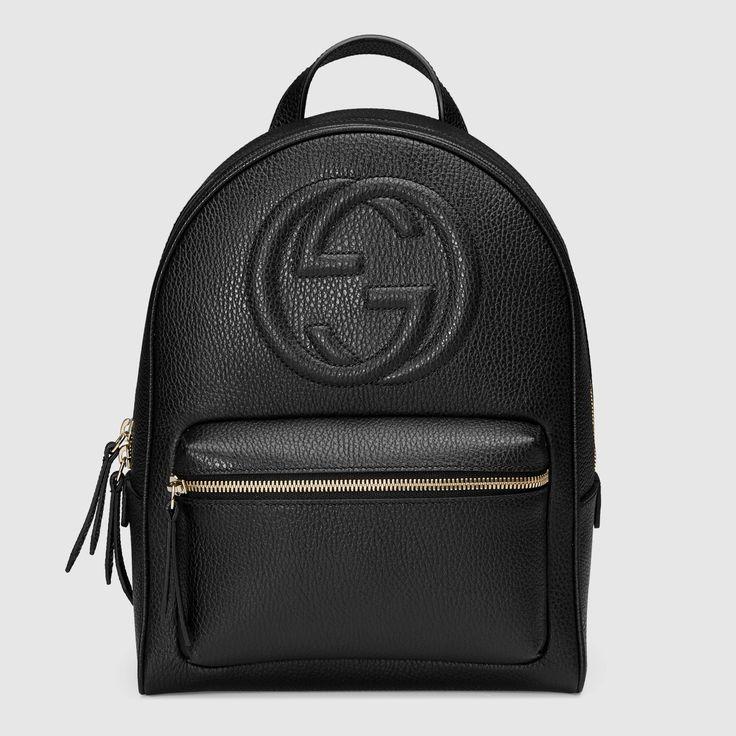Retrouvez bientôt en ligne ce backpack tendance Gucci ! www.leasyluxe.com #black #gucci #leasyluxe