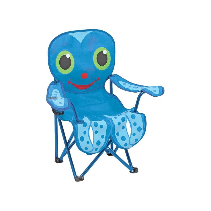 Folding beach chair 25 pinterest melissa doug sunny patch flex octopus folding beach chair for kids voltagebd Gallery