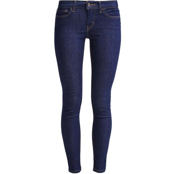 Levi's 710 INNOVATION SUPER SKINNY ❤ liked on Polyvore featuring jeans, pants, bottoms, skinny leg jeans, blue jeans, skinny jeans, skinny fit jeans and levi jeans