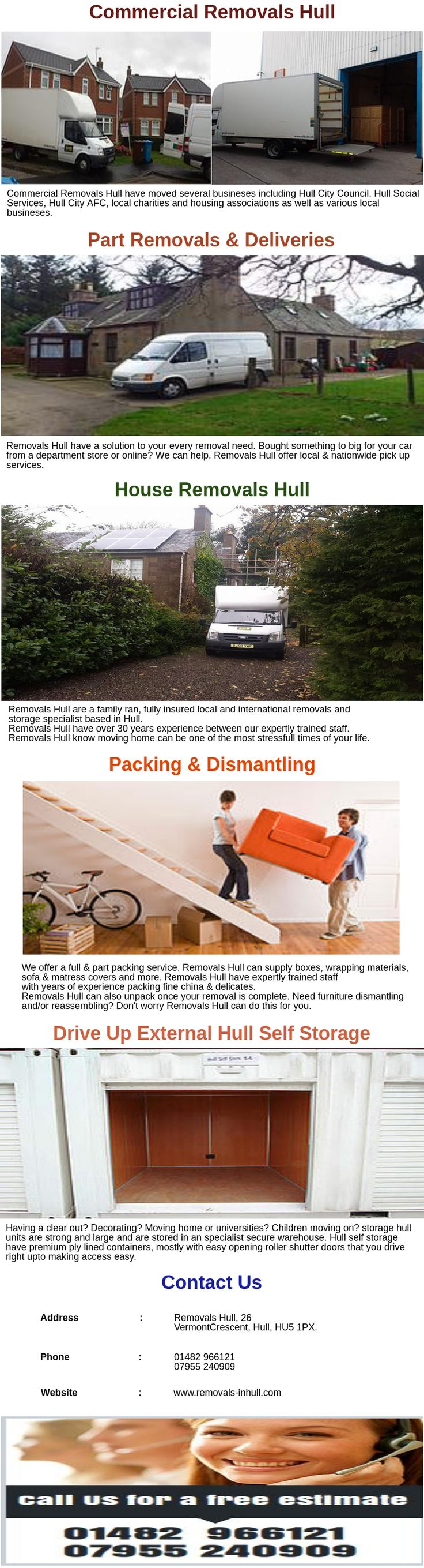 We offer a full & part packing service. Removals Hull can supply boxes, wrapping materials, sofa & matress covers and more. Removals Hull have expertly trained staff with years of experience packing fine china & delicates. Removals Hull can also unpack once your removal is complete.