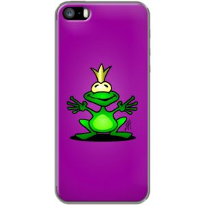 The Frog Prince By CardVibes for Apple  iPhone 5/5s #TheKase #Cardvibes #Tekenaartje #iPhone #Smartphone #cover #case