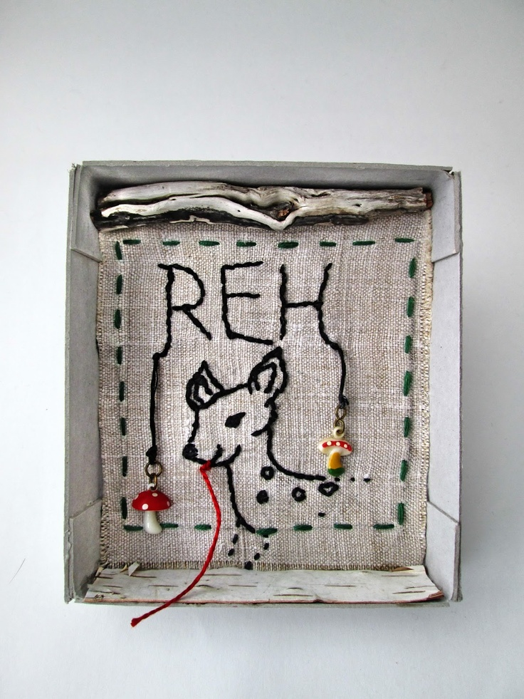 mano kellner, art box nr 358, reh