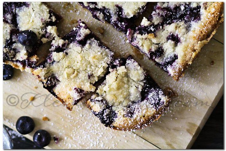 Blueberry Pie Bars {Recipe}
