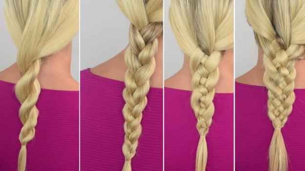 Let's start with the basics of braiding, shall we? Braids #1-4 are perfect for beginners.