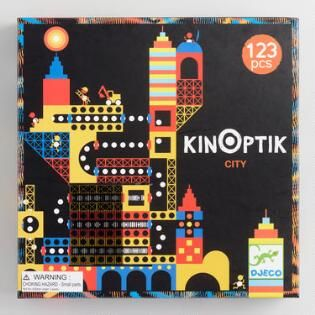 Kinoptik City Magnetic Tile 123 Piece Building Kit