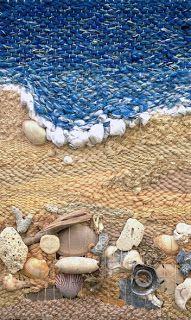 Dimensional Weaving - Martina Celerin 3D fiber art: April 2013